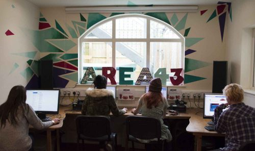 Area 43 Using Computers